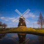 風車と夏の大三角