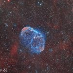 NGC6888クレセント星雲/ナローバンド撮影