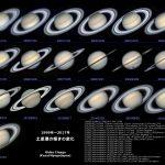 19年間の土星(1999〜2017)