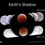 地球の影・皆既月食