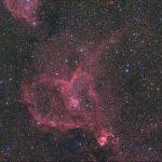 ハート星雲IC1805