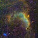 かもめ星雲IC2177とその周辺・ナローバンドで