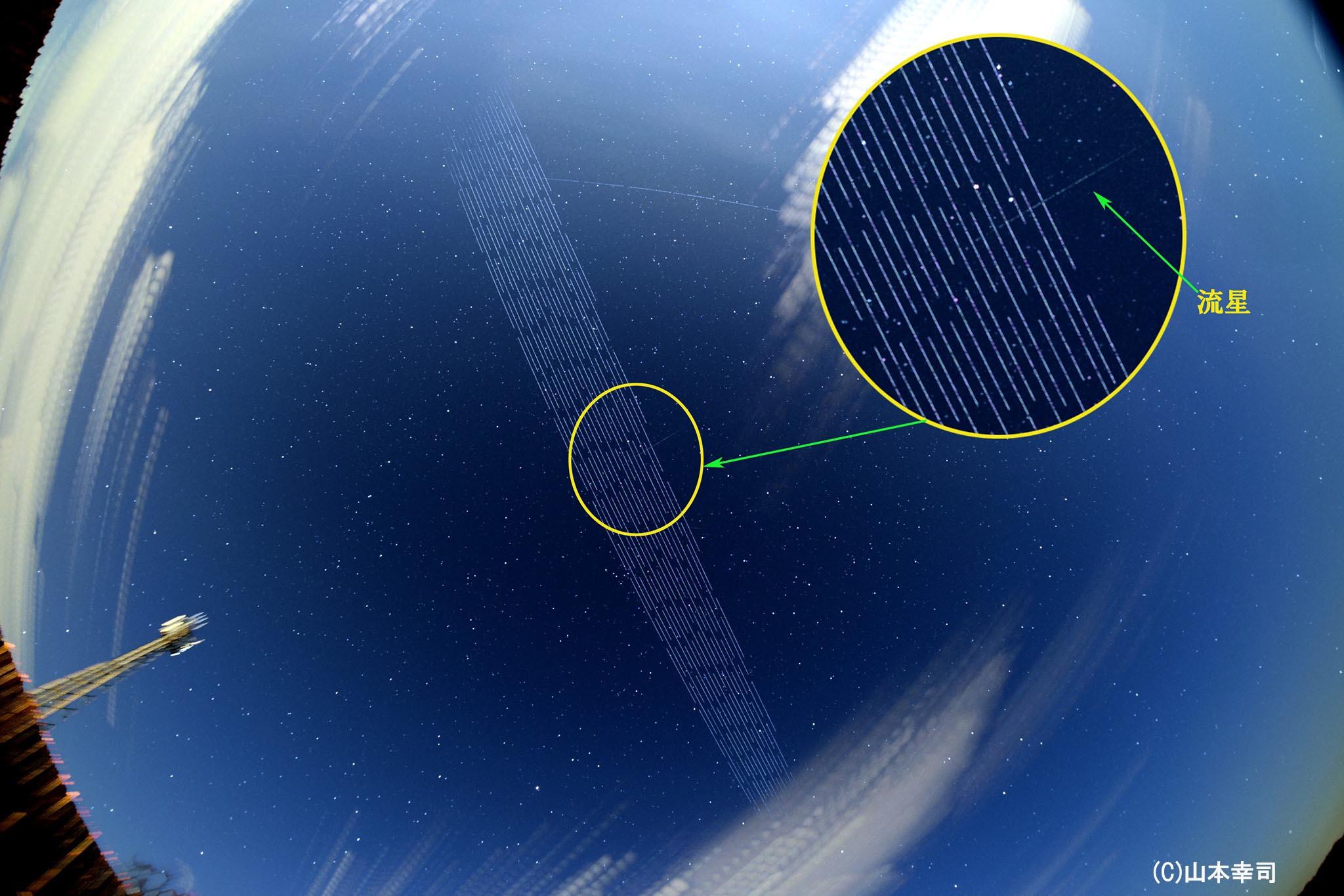 Starlink(スターリンク)衛星の天体観測への影響 | 天リフギャラリー