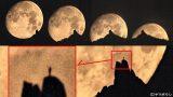 月との対話・ツーショット遠隔自撮りat地蔵岳