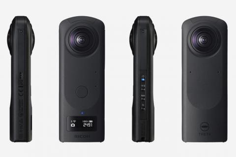 最強・1インチセンサー全天球カメラ「THETA Z1」発表