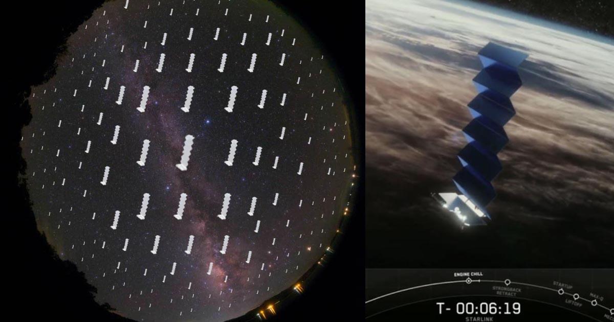スペースXの「Starlink」打ち上げ・星空への影響は? | 天リフOriginal