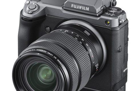 1億画素の「ラージフォーマット」GFX100発表